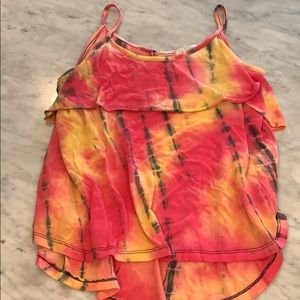 Tie dyed tank
